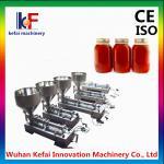 Buy cheap Manual bottled piston viscous liquid dispensing filling machine product