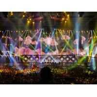 High Contrast Stage Ratio Indoor Led Screen P6 Rental , Die Casting Led Display
