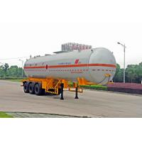 Buy cheap Gas Tanker Truck Capacity 58300L / Semi Trailer product
