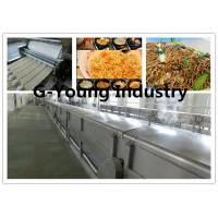 Buy cheap fully Automatic Fried Instant Noodle Making machinery production line frying line product