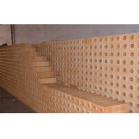 Buy cheap Shaped Dry Pressed Kiln Refractory Fire Bricks Insulating Fireclay Block product