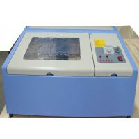 China Mini Portable Acrylic CO2 Laser Engraving Machine 40 Watt With Advanced Positioning System on sale