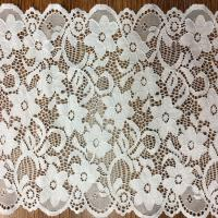 Buy cheap 17.5cm  wide 2017  New Fashion  Lace Border/ underwear cotton lace edge in Ivory and Black Color product