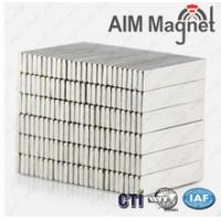Buy cheap Customized strong thin small Block N52 neodymium magnet from wholesalers