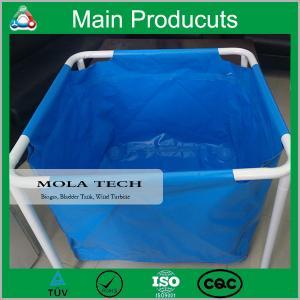 Buy cheap Economic Long Serve Life Collapsible Mobile PVC Tarpaulin Fish Tank Water Tank Manufacture product