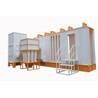 Buy cheap Automatic Spray Booth  With Cyclone Filter Recovery System product