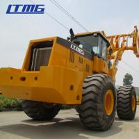 China LTMG 8 Ton Comfortable Sugar Cane Grab Loader Mobile Forestry Equipment 169KN Force on sale