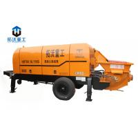 China Long Distance Delivery Lightweight Concrete Pump , Small Portable Concrete Pump on sale