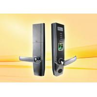 Buy cheap 5.0KG Thumbprint Scanner Door Lock / Biometric  Door Lock System With OLED Display product