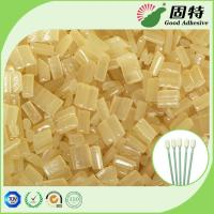 Buy cheap Yellow Block Industrial Hot Melt Glue , Disposable Cotton Swab Hot Melt Pellets product