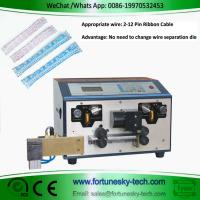 Buy cheap Fully Automatic Ribbon Cable Cut Split And Partially Stripping Multi Conductor Cable Machine Without Change Cutter Die product