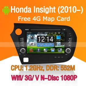 Buy cheap Honda Insight Android Autoradio DVD GPS Navi Digital TV Wifi 3G product