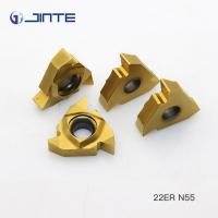 China 22IR N55 Internal Threading Inserts , Lathe Threading Tool Inserts ISO 9001 Approved on sale