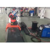 Buy cheap Movable MIG Welding Manipulator , Gas Welding Table With Positioner Stationary product