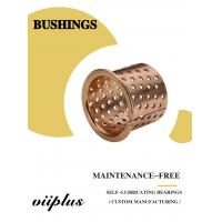 Buy cheap FB090 & 092 Tin Bronze Slide Bearing Oilless Bronze Bushing Size Stock product