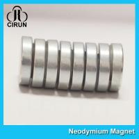 China N35-N52 Permanent Neodymium Cylinder Magnets For Motor Generator on sale