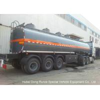 Buy cheap 30-45CBM Chemical Tanker Truck 3 Axles For Hydrochloric Acid , Ferric Chloride Delivery product