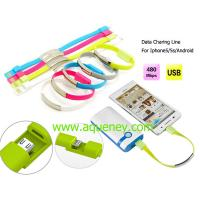 Buy cheap Micro USB Charger Data Cable for Iphone,Samsung with custom logo printing product
