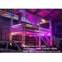 Buy cheap Heavy Duty Line Array Led Screen Truss System 6082 Aluminum Alloy Material product