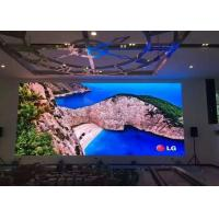 Buy cheap Clear P2 Commercial Led Display Small Pitch 256 X 128mm Video Wall product