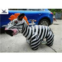 Buy cheap Cute Animatronic Motorized Animal Scooters Remote Control Coin Operated product
