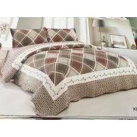 Postmodern Style Home Bed Quilts Hand Wash Little Flowers Printed Design