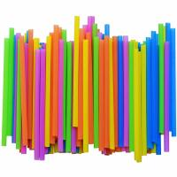 Buy cheap Commercial Straight PLA Straw Individually Wrapped Plastic Straws Eco - Friendly product