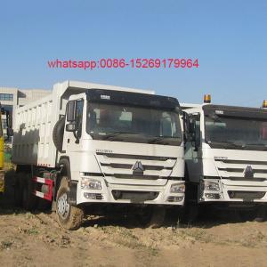 Buy cheap SINOTRUK HOWO 371hp 6x4 10 wheeler dump truck 20m3 capacity product