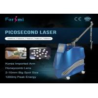China Korea lab 1500 mj q switched pulse width600ps tattoo removal picosecond laser pico on sale