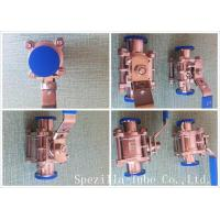 Buy cheap ASME BPE TP316L Stainless Steel Sanitary Valves And Fittings High Purity product