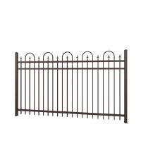 Buy cheap Carbon Expanded Steel Cast Iron Fence Classical Power Coated Used For Road product