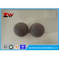 Buy cheap Automatic Hot rolling Forged Grinding Balls , Air Hammer Forged Steel Grinding Ball product