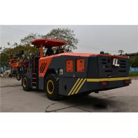 Buy cheap Commodious 4x4 wheel drive Underground face drilling rig in China product