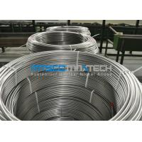 Buy cheap Chemical Injection Seamless ASTM A269 Stainless Steel Tubing Line / Seamless Coiled Tubing product