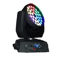 Buy cheap 36 X 15W LED Stage Lighting Moving Head With Ringcontrol RGBWA Silent Fan Stage Lights product