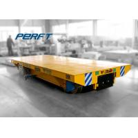 Buy cheap Electric Ladle Transfer Car On Rail , Workshop Large Cargo Material Handling Carts product