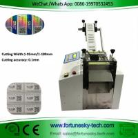 Buy cheap Electronic eye cutting machine, mobile phone membrane flat film cutting machine, QR code label slicer product