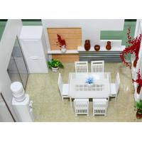 China Miniature Architectural 3D Models Home Interior Dining Room on sale
