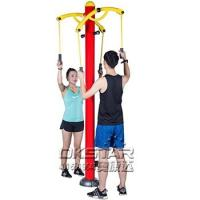 Buy cheap Outdoor Fitness Equipment outdoor arm stretcher upper limbs trainer product