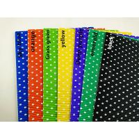 Deep Purple Black Coloured Corrugated Sheets , Round White Dots  Corrugated Wrapping Paper