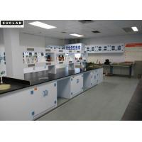 Buy cheap Corrosion Resistant Chemical Lab Furniture With PP Countertops And Shelves In from wholesalers