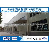 China Steel Fabrication Metal Frame Buildings New - Designed At Belmopan Area on sale