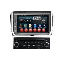 China Dual Core PEUGEOT Navigation System Android 208 2008 DVD GPS CD Player BT TV iPod on sale