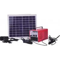 China Off-grid 30W 24Ah mobile solar home lighting system with full CE certificate on sale
