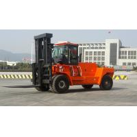China Wear Resisting Diesel Forklift Truck , Automatic 2 Stage / 3 Satge Mast Forklift for sale