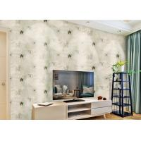Buy cheap Removable Non Woven Living Room Wallpaper 0.53*10m with American Style , SoundProof product