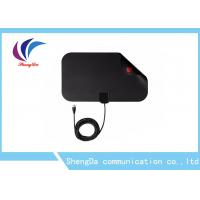 Buy cheap Mini Flat UHF VHF Digital TV Antenna-50 Mile Range With 1080P Freeview TV product