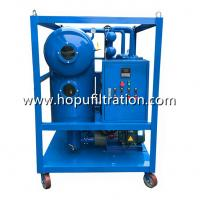 Buy cheap Insulation Oil Recycling System, Switchgear Oil Purifier, Transformer Oil Regeneration Plant, Cable Oil Degassing Unit product