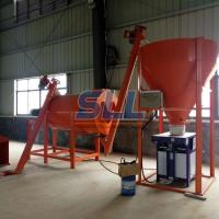 Buy cheap Sand Powder Double Paddle Spiral Dry Mortar Mixer With Double Ribbon Blender product