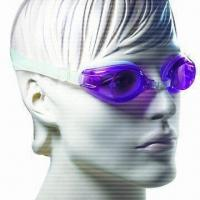 Quality High Quality Swimming Goggles with Adjustable Nosebridge and 100% Silicone Strap for sale